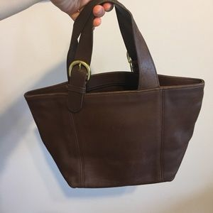 Vintage Coach Purse brown leather